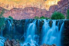 Havasupai Waterfalls in Arizona. royalty free stock photos