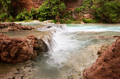 Havasupai Waterfalls Royalty Free Stock Images