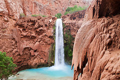 Havasupai Waterfalls Royalty Free Stock Photo