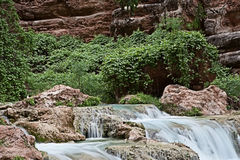 Havasupai Waterfalls Royalty Free Stock Photography