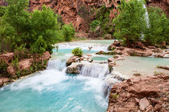 Havasupai Waterfalls Stock Photos