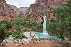 Havasupai Waterfalls Stock Images