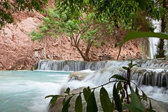 Havasupai Waterfalls Royalty Free Stock Photos
