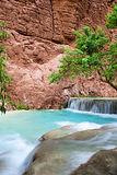 Havasupai Waterfalls Royalty Free Stock Image