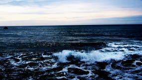 Havblått Arkivfoto