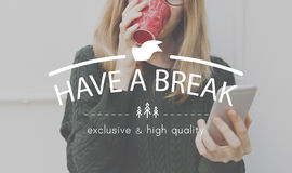 Free Have A Break Relaxation Stop Resting Concept Royalty Free Stock Photos - 75170678