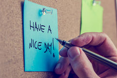 Free Have A Nice Day Stock Photos - 42064793