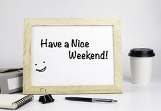 Free Have A Nice Weekend Royalty Free Stock Photos - 63078068