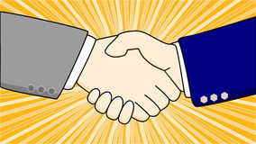 We have an agreement Stock Photo