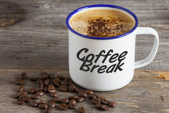 Have a break with Coffee Stock Photo