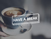 Have A Break Relaxation Stop Resting Concept royalty free stock image