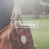 Have Break Travel Journey Freedom Concept. Have Break Travel Journey Concept Stock Photos