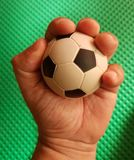 Have control of football in your hand Stock Image