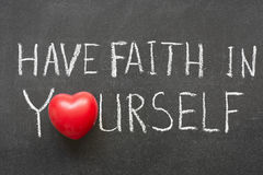 Have faith Royalty Free Stock Photography