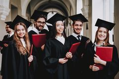 Free Have Fun. Friendship. Group Of Students. Mantles. Stock Photography - 129380552