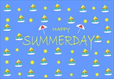 HAVE FUN FOR SUMMER DAY. ARE YOU READY FOR SUMMER? YOU CAN GOT IT BECAUSE SUMMER DAY IS COMING . HAPPY SUMMER AND HAFE FUN Stock Photo