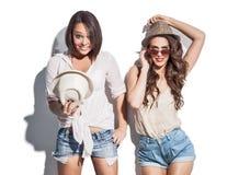 Have a fun summer fashion women Stock Photo