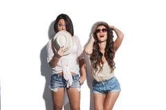 Have a fun summer fashion women Royalty Free Stock Photo