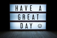 Have a great day Royalty Free Stock Images
