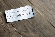 Have a great Weekend Royalty Free Stock Photos