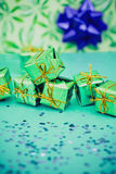 Have a green Christmas, ecology friendly gifts Stock Image