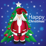 Have A Happy Christmas From Santa Royalty Free Stock Image