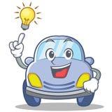 Have an idea cute car character cartoon Stock Photos