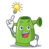 Have an idea watering can character cartoon Stock Photos