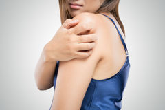 Have a itching Stock Images