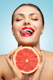 Have a lick. Stock Photography