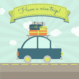 Have a nice car trip Stock Images
