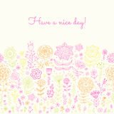 Have a nice day background. Stock Images