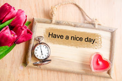 Have a nice day. Stock Image