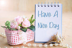 Have a nice day. Stock Photography