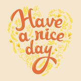 Have a nice day Stock Photo