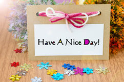 Have a nice day. Stock Photo