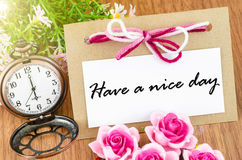 Have a nice day. Royalty Free Stock Photos