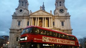 Have a Nice Day at St Paul& x27;s Stock Photo