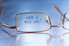 Have a nice life Royalty Free Stock Images