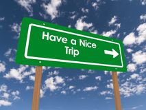 Have a nice trip Royalty Free Stock Photography
