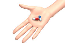 Have a pill Stock Image
