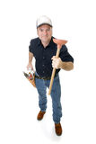 Have Plunger Will Travel Royalty Free Stock Photo