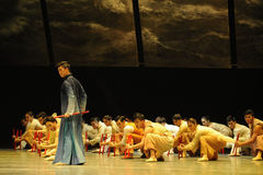 Have the same enemy and hatred-The third act of dance drama-Shawan events of the past Stock Photography