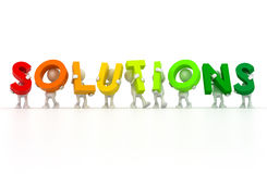 We have solutions Stock Photos