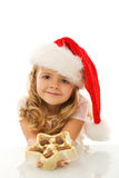 Have some christmas chocolate Royalty Free Stock Images