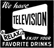 We Have Television 2 Royalty Free Stock Photo