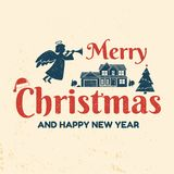 Have a very Merry Christmas and happy new year. Stock Images