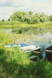 Havel river at summer time Royalty Free Stock Images