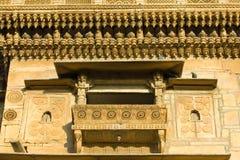 Haveli в Jaisalmer, Раджастхане, Индии Стоковое Фото