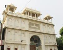 Haveli de ville rose Jaipur Photo stock